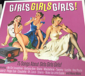 Doo Wop 50s Various Girls Girls Girls! New Sealed 3cd Digipak Free Post U.K. D