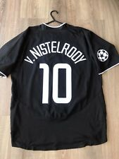 MANCHESTER UNITED 2003/04 CHAMPIONS LEAGUE AWAY SHIRT ADULTS(L) 10 v.NISTELROOY