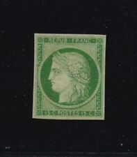 ***REPLICA*** of 1849 France 15c green Ceres