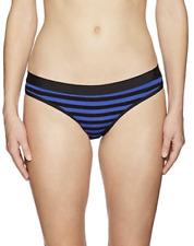 Skye Women's Temptation Banded Hipster Bikini Bottom, Azure, L