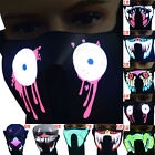 Luminous Face Mask Light Up Flashing Masks Halloween Party Costume Accessories
