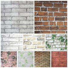 1M 3D Simulation Brick Backdrop Self Adhesive Wall Sticker Decal Room Decor  Hot Part 69