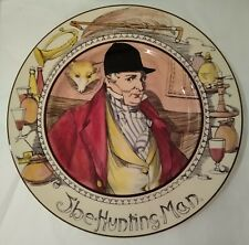 """Royal Doulton """"The Hunting Man"""" Plate #D6282 England - Excellent Condition!"""
