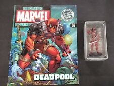 Marvel Classic Figurine Collection: Deadpool (#56) Comic and Figurine