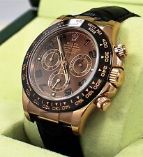 Rolex Daytona 116515 LN 18K Rose Gold Cosmograph Chocolate BOX&CARD *BRAND NEW*