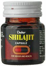 Dabur Shilajit 30 Caps For Vigour & Health + Free Shipping