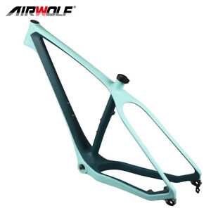 "26er Carbon Fat Bicycle Frame Beach Snow Mountain Bike Frames Fit 5"" Fat Tires"