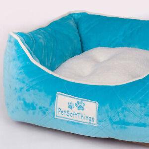 Plush Fluffy Soft Warm Calming Dog Puppy Kitten Cat Pet Bed Mattress Cushion