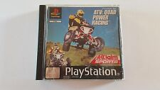 ATV: QUAD POWER RACING / jeu Playstation 1 - PS one / complet / PAL