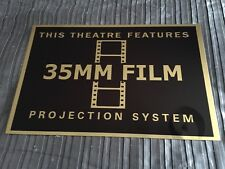35MM Film Projector Cinema Sign