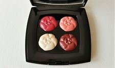CHANEL 4 Camelias de Chanel- ROSES -Quartet of Satin Lip Colours (New with Box)