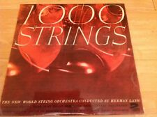 1000 STRINGS LP ALBUM - NEW WORLD STRING ORCHESTRA BY HERMAN LANG