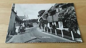 ALDBOURNE ladies in Castle Street, near MARLBOROUGH & SWINDON RPPC 1968,