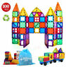 Magnet Tiles 100pc Clear Color 3D Magnetic Building Tiles Toy Kid - NEW IN BOX