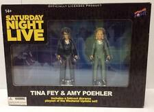 Saturday Night Live SNL Weekend Update Tina Fey & Amy Poehler 3 1/2 Inch Figures