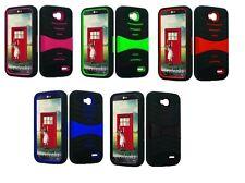 Hybrid Armor Cover Case For LG Optimus L90 L3 D410 D415 D405 D405N D405TR W7