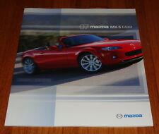 Original 2007 Mazda MX-5 Miata Sales Brochure SV Sport Grand Touring