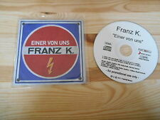 CD Rock Franz K - Einer von uns (2 Song) Promo STEPS / FASTBALL MUSIC Josefus