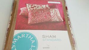 MARTHA STEWART PAISLEY BLOCKS STANDARD SHAM NEW PILLOW SHAM