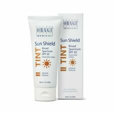 Obagi Medical Sun Shield Broad Spectrum SPF 50 3oz Warm Tint SunScreen July 2020