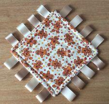 Baby Taggy - 20cm / Christmas Blanket - Gingerbread Men  / Comforter - Xmas Gift