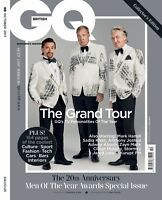 GQ Magazine British October 2017 Jeremy Clarkson, Richard Hammond and James May