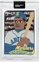 Topps Project 2020 IN Hand - 1989 Ken Griffey Jr. by Keith Shore #88 Sold Out