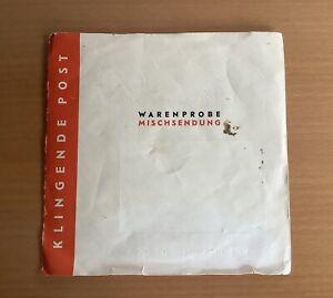 """Vinyl 7"""" Klingende Post Folge 5 Warenprobe"""