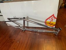 "S&M BIKES SPEEDWAGON FRAME CHROME 21.25 BMX BIKE RACING 21.25"" STEEL PANTHER 20"""