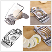 Stainless Steel Egg Slicer Section Cutter Mold Tool Kitchen Chopper Tool