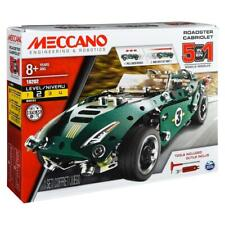 Meccano 5-in-1 Roadster Pull Back Car Kit - #18202 - NIB