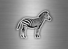 Autocollant sticker voiture moto macbook zebre animaux decoration chambre r1