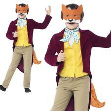 Child Fantastic Mr Fox Costume Roald Dahl Fancy Dress Book Day Outfit
