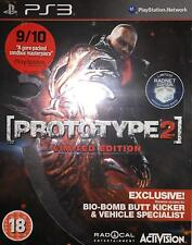 Prototype 2 - Limited Edition Bio-Bomb Butt Kicker - PS3 Brand New SEALED