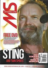 Mindscape magazine Sting Tarot dairies Maize Williams Dr. Hook Ghost hunting