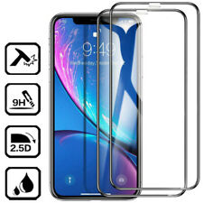 For iPhone 6-11 Pro Max Full Coverage Tempered Glass Screen Protector