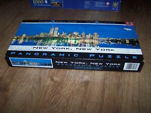 New York, New York Panoramic 765 Piece Jigsaw Puzzle 3FT Complete