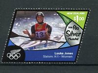 New Zealand NZ 2016 MNH Rio Silver Medal Luuka Jones Kayaking 1v Olympics Stamps