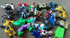 McDonald's Fast Food Toy Lot ~Action Figures~Transformers~Power Rangers~DC Comic