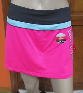 FILA Colorblock Athletic Skort Various Colors Ladies Sz L  XXL NWT MSRP $45