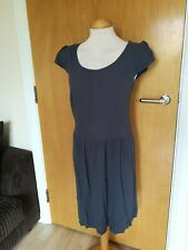 Ladies THE WHITE COMPANY Dress Size 12 Grey Smart Casual Day Party