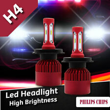 H4 LED Headlight kit Driving Lamp Hi/Lo Beam Bulbs Globes 480W 50000LM  6000K