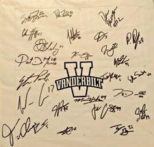 2019 Vanderbilt Team Signed Base Bleday, Corbin, Martin, Paul + 20 more Vandy