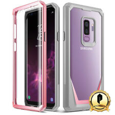 POETIC Samsung Galaxy S9 Plus Rugged Case [Guardian] Shockproof TPU Cover Pink