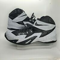 Nike Lebron Zoom Soldier VIII Mens 12.5 Basketball Shoes 688579-001 Wolf Gray