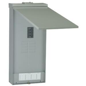 GE Main Breaker Box 200 Amp 8-Space 16-Circuit Full-Length Neutral Bars