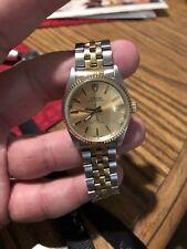 ROLEX TUDOR Prince OysterDate 72000 SS/18K Gold Men's Watch 34mm Case
