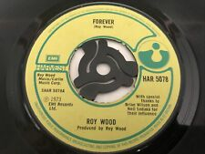"""New listing Roy Wood - Forever 7"""" Vinyl Single Record"""