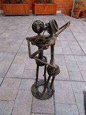 """"""" Les Danseurs """"   Sculpture en métal recyclé"""