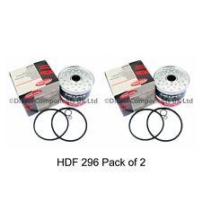 Delphi Fuel Filter HDF296 set of 2